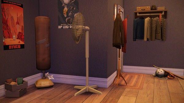 Martine Simblr: Downtown apartment • Sims 4 Downloads