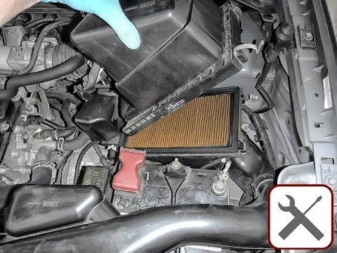 Nissan X Trail Air Filter Replacement How To Replace Cabin Filter