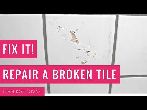 Save money and repair a broken or chipped tile yourself diy ideas save money and repair a broken or chipped tile yourself solutioingenieria Image collections