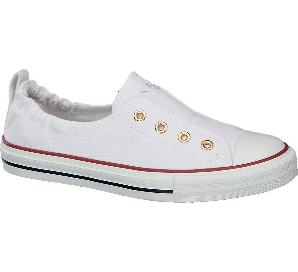 Biale Tenisowki Damskie Vty 1717077 Sneakers Slippers Chucks Converse