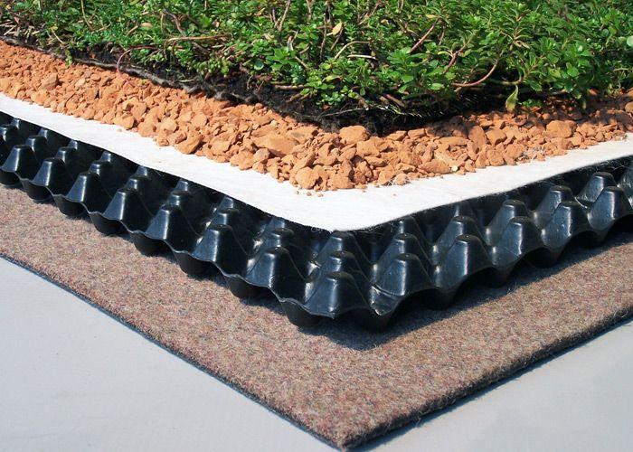 Zinco Gmbh Product Zinco Green Roof Systems Image 1 Techos Verdes Fachada Verde Techos Jardin