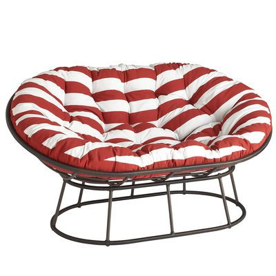 Papasan Outdoor Double Frame   Mocha Comfy Seat For The Front Porch!