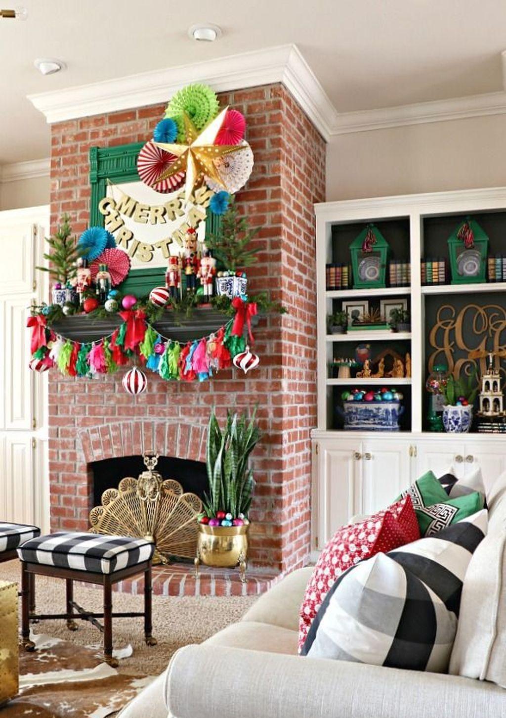 77 diy christmas decor ideas for living room  christmas