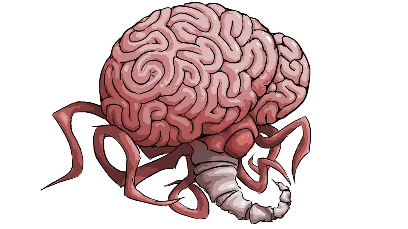 I Drew Every Pre Hard Mode Boss In Terraria Terraria Memes Terrarium Brain Of Cthulhu