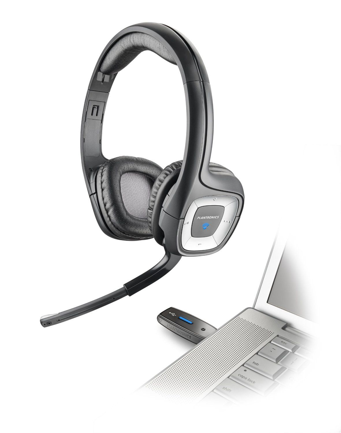 Audio 995 Is A Top Rated Headphone Used For Many Call Center Jobs The Overall Design Makes This Wireless Headphone Plantronics Gaming Headset Wireless Headset