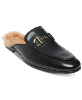 89d882c280f Steve Madden Men's DiFranco Leather Bit Slip-Ons - Black 10.5 ...