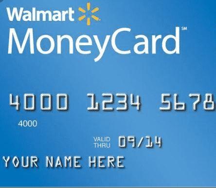 Walmart Money Card Money cards, Visa debit card, Credit