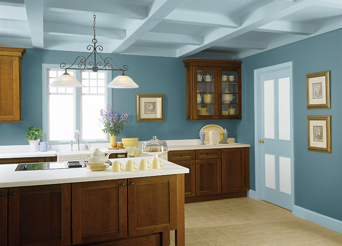 My Project Kitchen Colors Wood Kitchen Cabinets Home