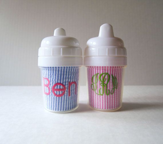 Small 5 oz Monogrammed Sippy Cup by eolsendesigns on Etsy ...