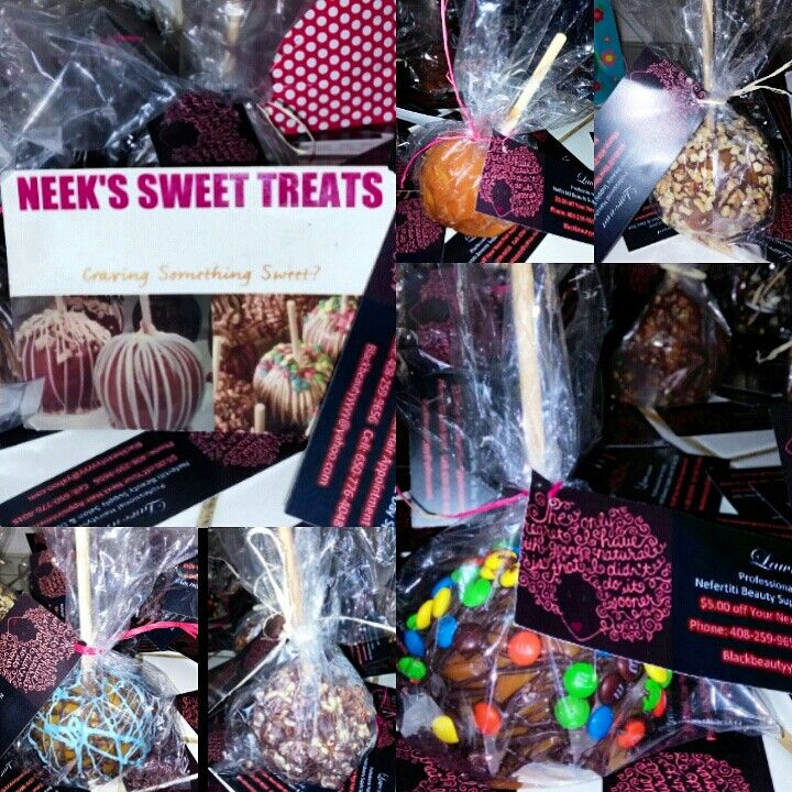 Treats I ordered for my next 20 clients.