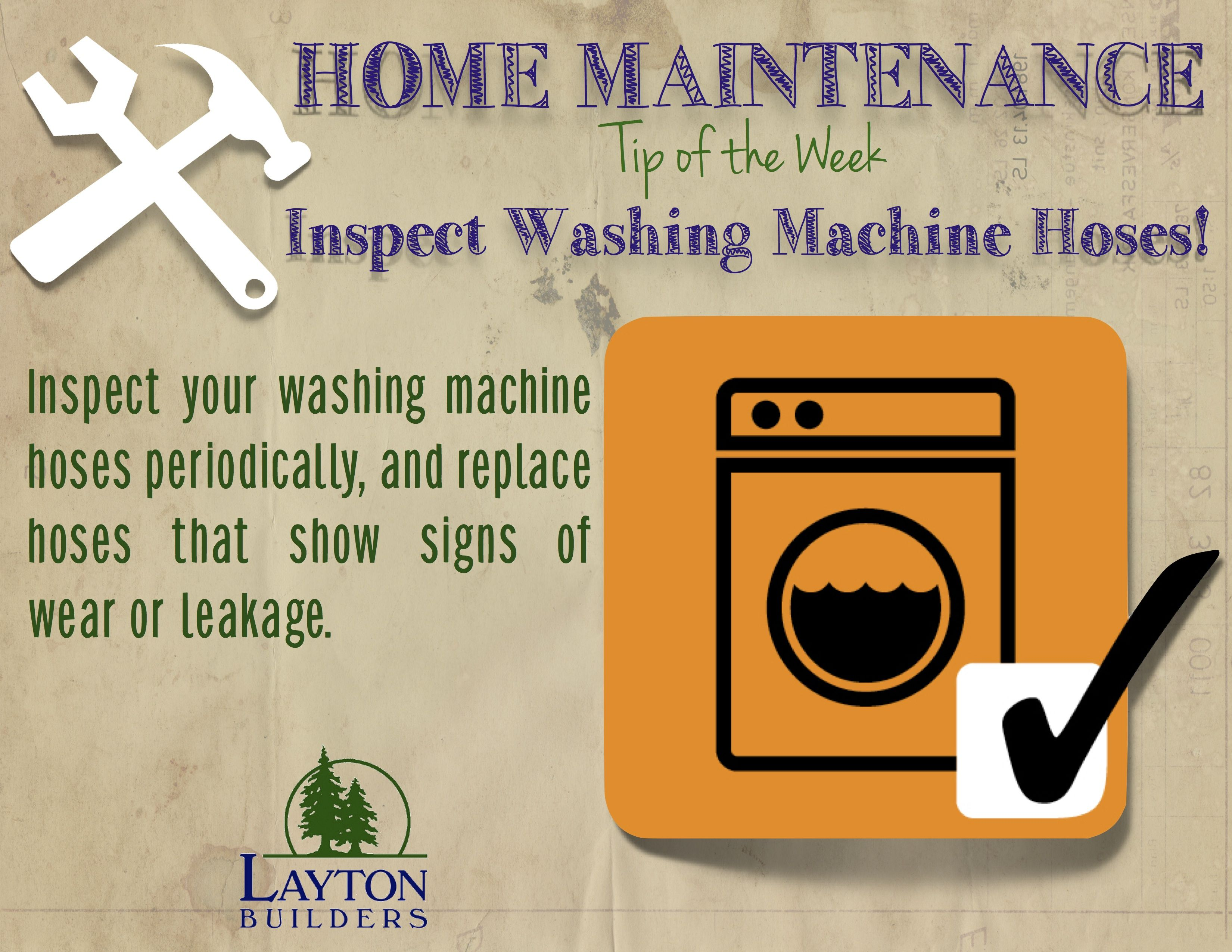 Home Maintenance Tip Of The Week From Layton Builders Inspect