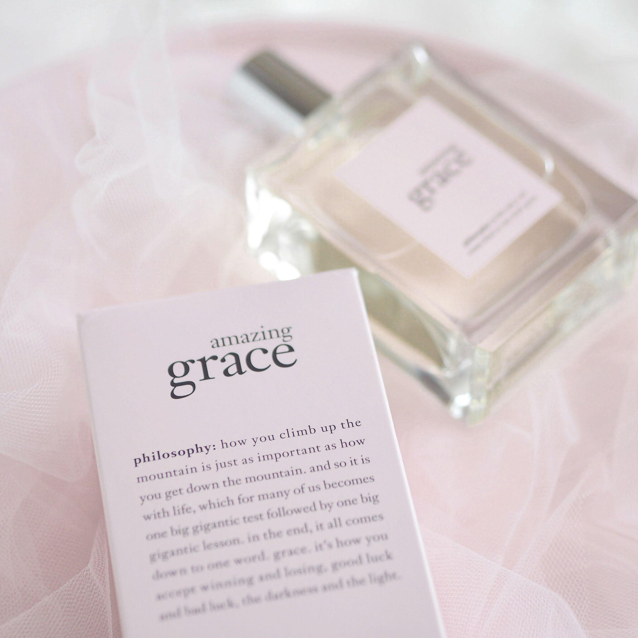 Philosophy amazing grace fragrance the lovely things i