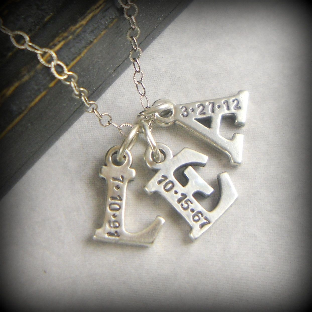 Personalized 18th Birthday Necklace Initial Custom: Initial Necklace, Gift For Mom, Personalized Initials