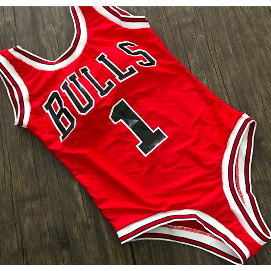 4db2d8c1ac4c1 CHICAGO BULLS ONE-PIECE HIGH CUT SWIMSUIT | Swimwear in 2019 ...