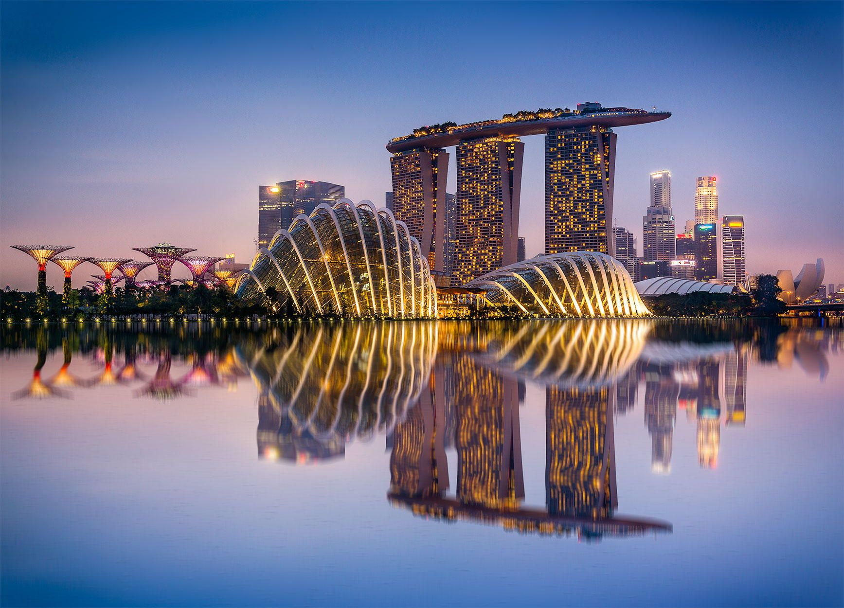 Singapore Discovered from Dream Afar New Tab Holiday