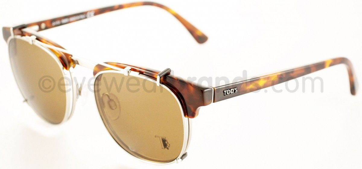 Tods Eyewear TO5091, Tortoiseshell Clubmaster (a classic) and I love a clip-on.
