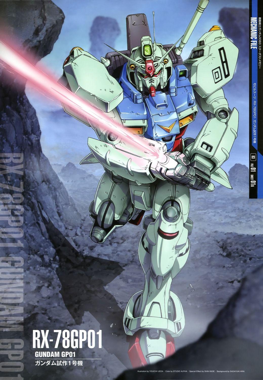 Mobile Suit Gundam 0083 Stardust Memory Rx 78gp01 Gundam