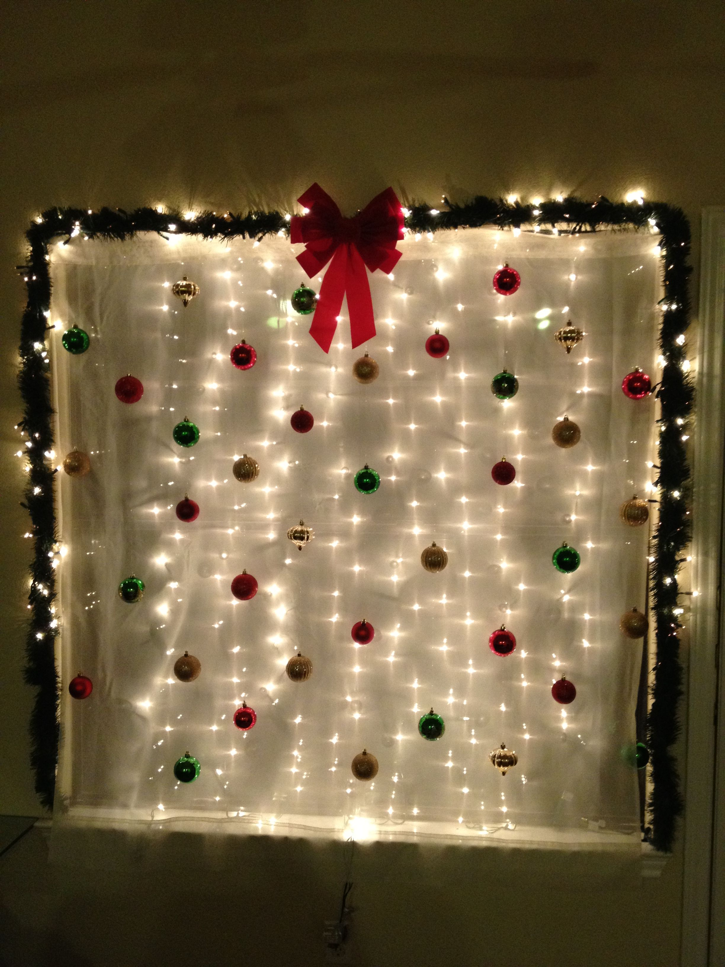 Apartment Window Decoration Christmas Party Backdrop Diy Christmas Party Christmas Decorations Apartment