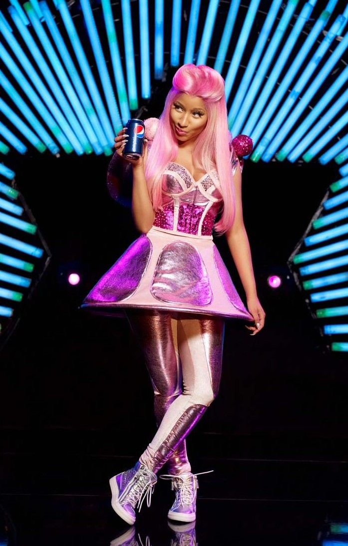 Nicki Minaj for Pepsi! Nicki minaj Pinterest Nicki minaj - nicki minaj halloween ideas