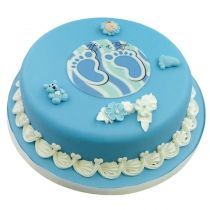Pin by cake company de on baby taufe pinterest baby baby kuchen and torten - Torte zur taufe junge ...
