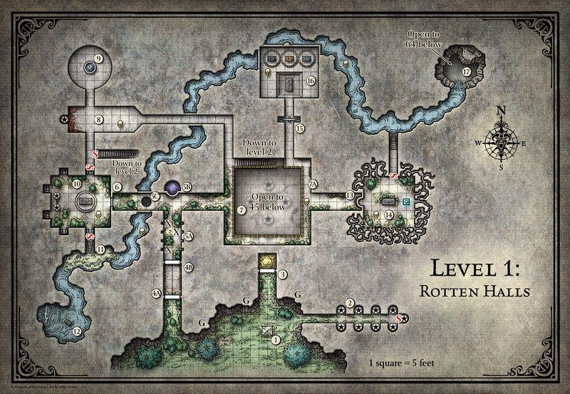 Tomb of Annihilation; Rotten Halls - 5E (Digital DM & Player ...