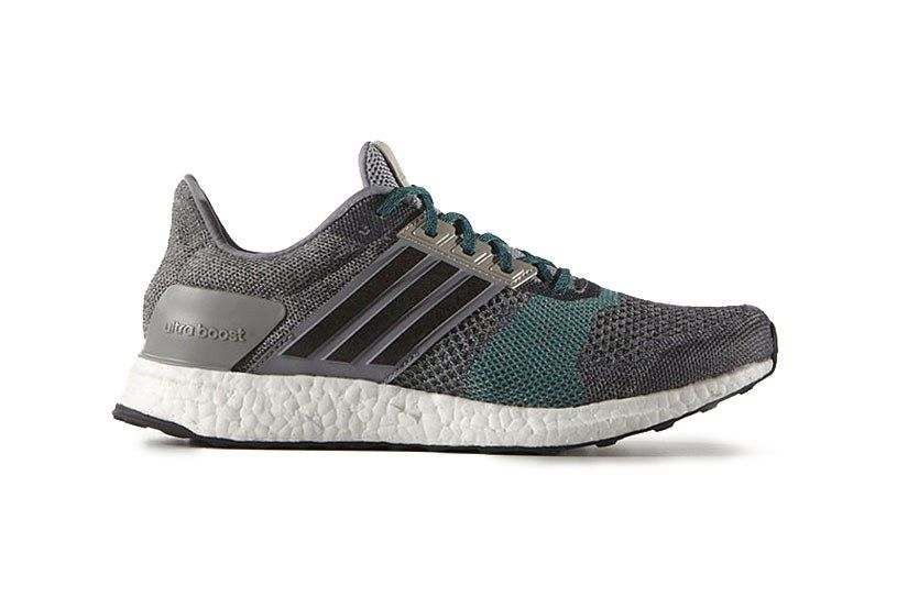 adidas Ultra Boost ST Grey/Green: 2016 continues to see promising Ultra  Boost releases from the brand with the Three Stripes, and this month, ...