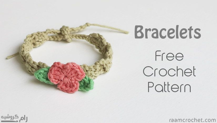This Is A Very Easy Crochet Bracelet The Thinner Yarn You Use The