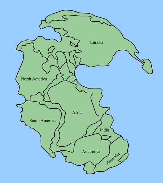 Pangaea and continental drift for kids with a printable Pangaea – Pangaea Worksheet