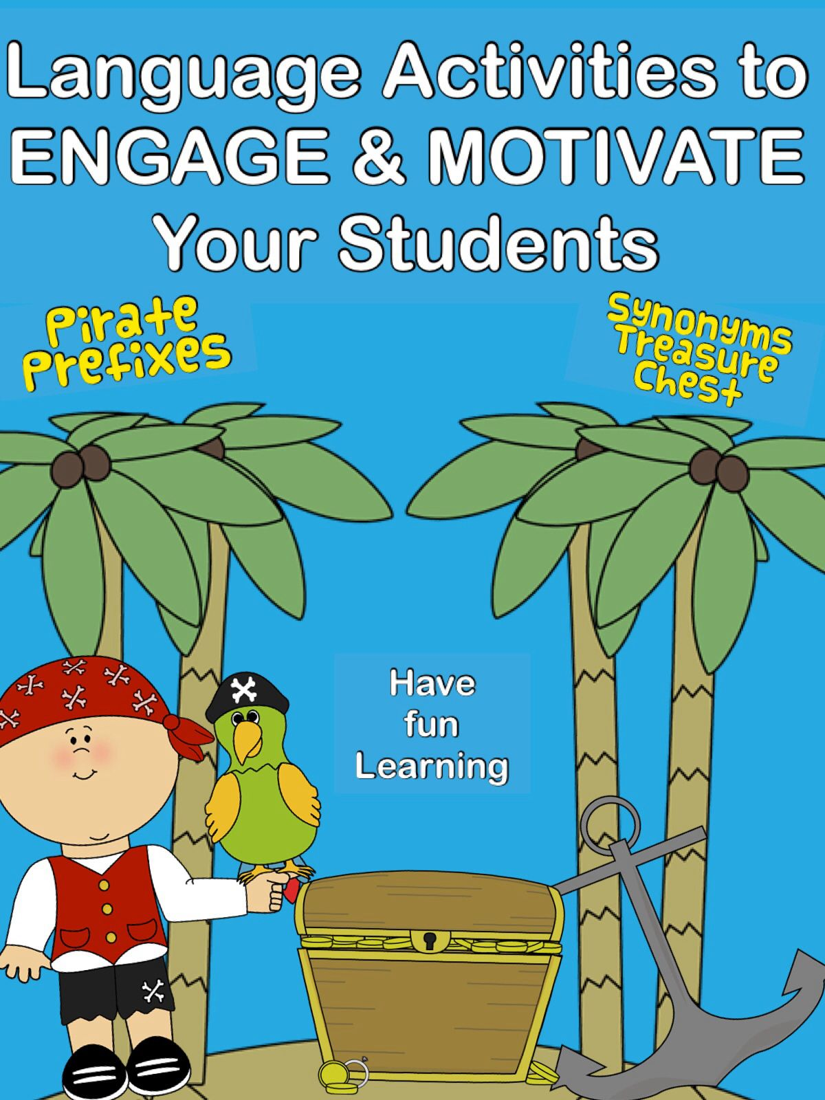 Pirate Prefixes Practice For Students K Through Grade 2