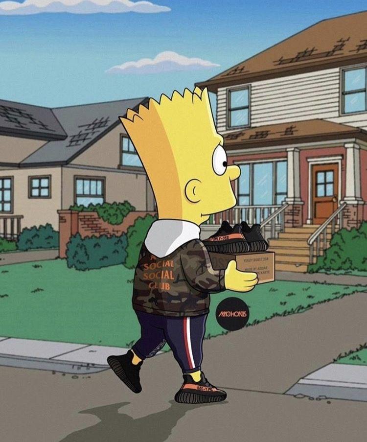 Les Simpson, Simpsons Et Dessin