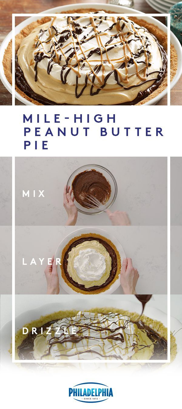 Food Photography Mile-High Peanut Butter Pie Food Photography Mile-High Peanut Butter Pie