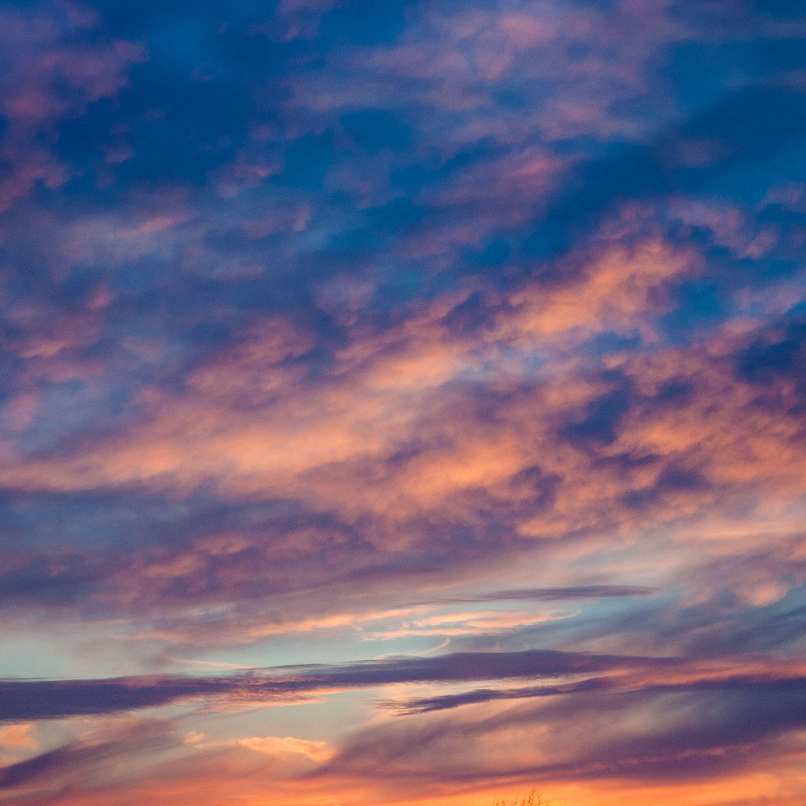 Nature Clouds Sunset Porous Ipad Pro Wallpaper Ipad Pro Wallpaper Clouds Wallpaper