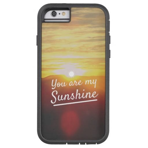 You Are My Sunshine iPhone 11 case