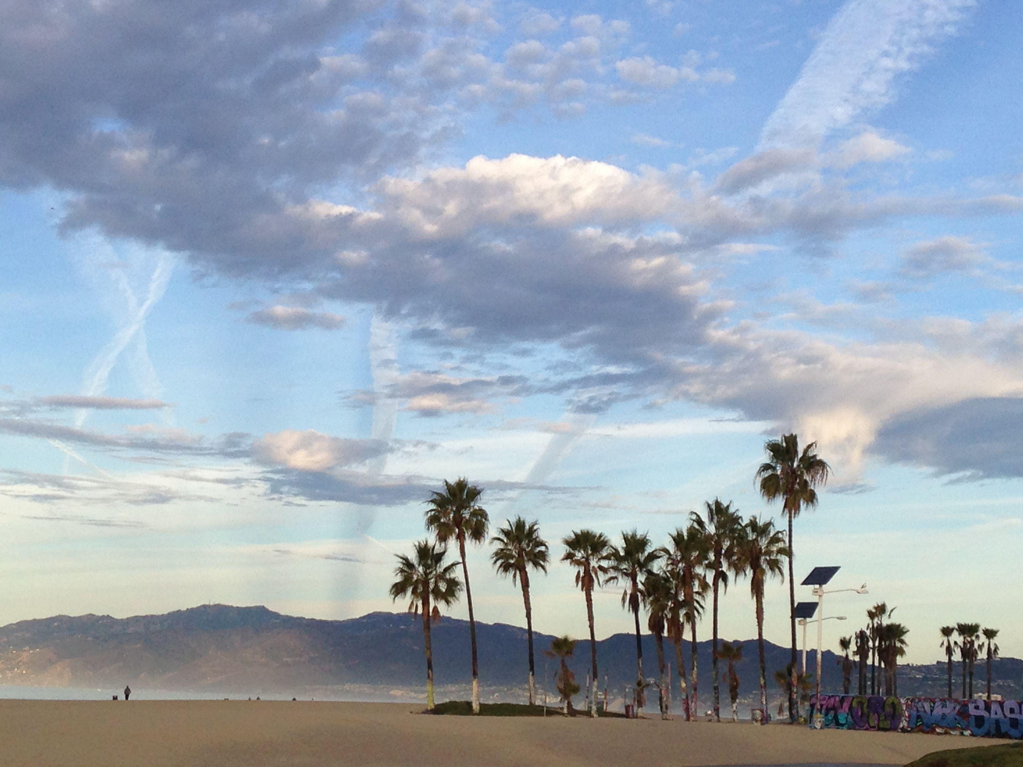 Venice Clouds Venice Beach Beach Clouds