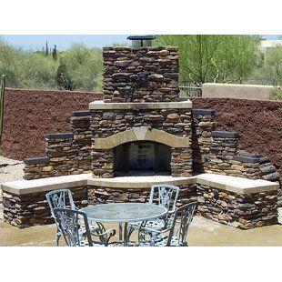 Canora Grey Quillen Steel Wood Burning Outdoor Fireplace ... on Quillen Steel Wood Burning Outdoor Fireplace id=64473