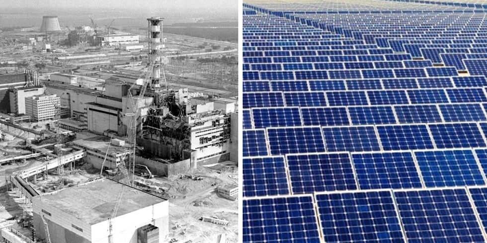 Chernobyl Could Become World S Largest Solar Farm Solar Farm Solar Chernobyl