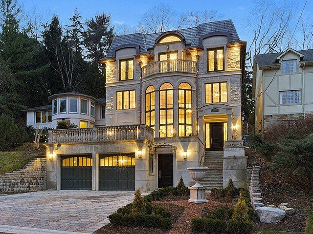 Wondrous A Luxurious 4 Story New Build In Toronto Canada Download Free Architecture Designs Scobabritishbridgeorg