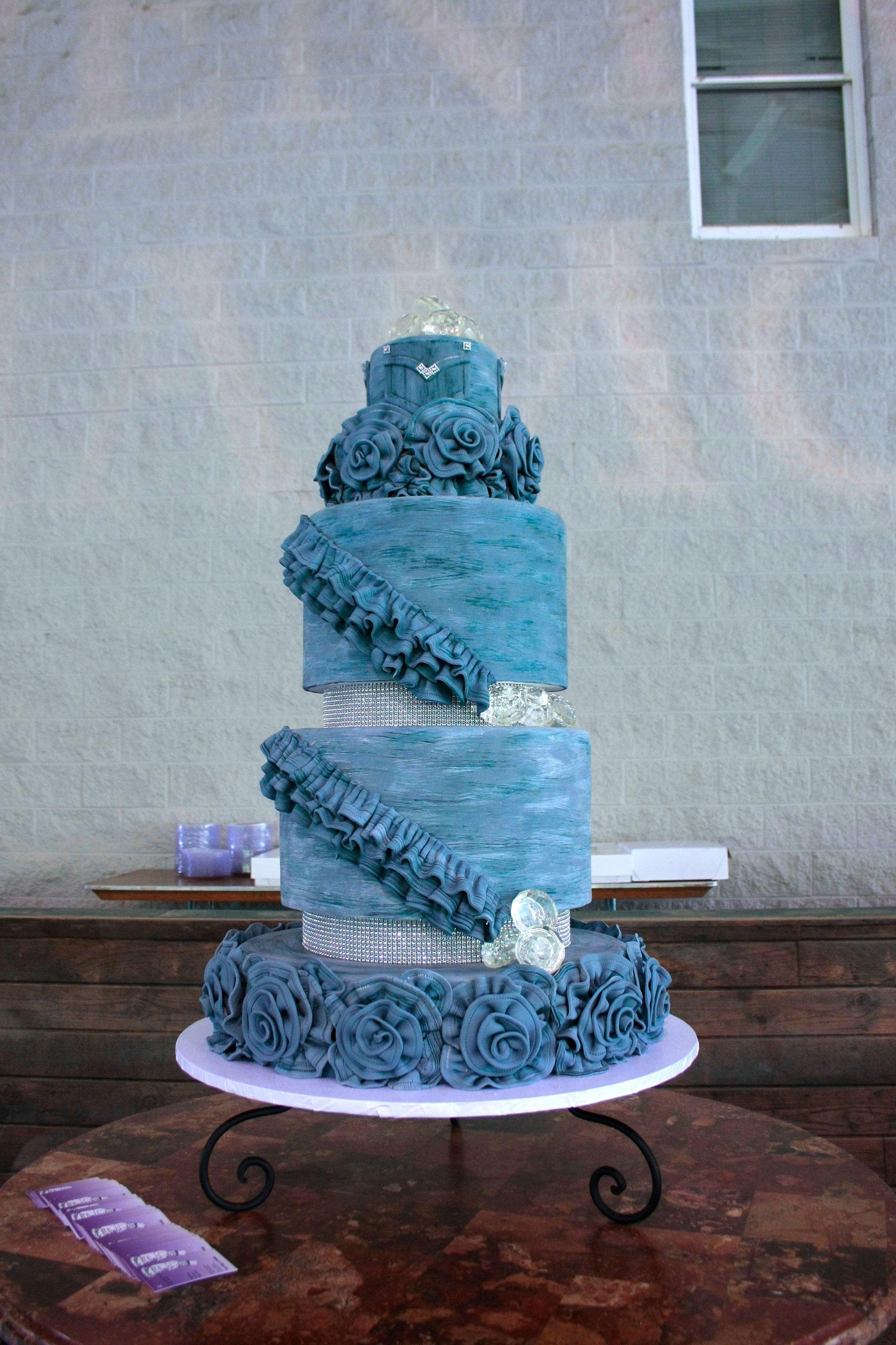 Denim Amp Diamond Cake By Bakers Man Denim Amp Diamonds 2013