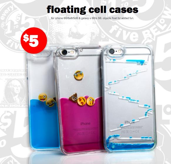 best sneakers e9554 09844 cool floating phone cases from five below | Five below in 2019 ...