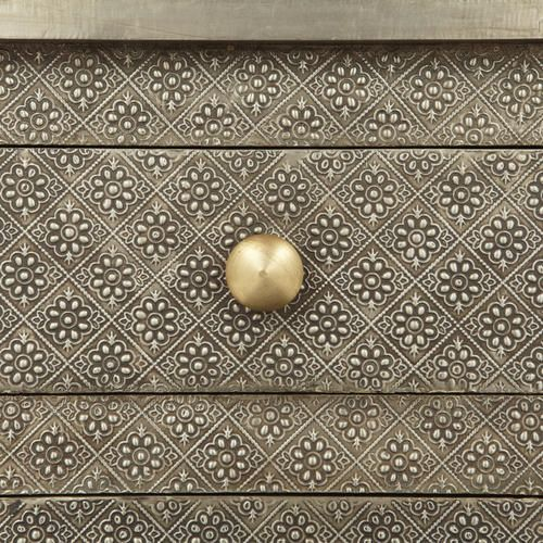 Kiran Embossed Metal Cabinet | Emboss, Metals and Craft