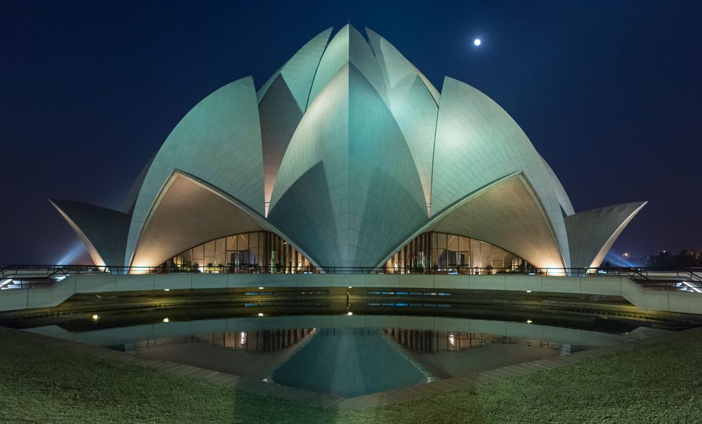 Lotus Temple Photo by Travelure Ajay -- National Geographic Your Shot
