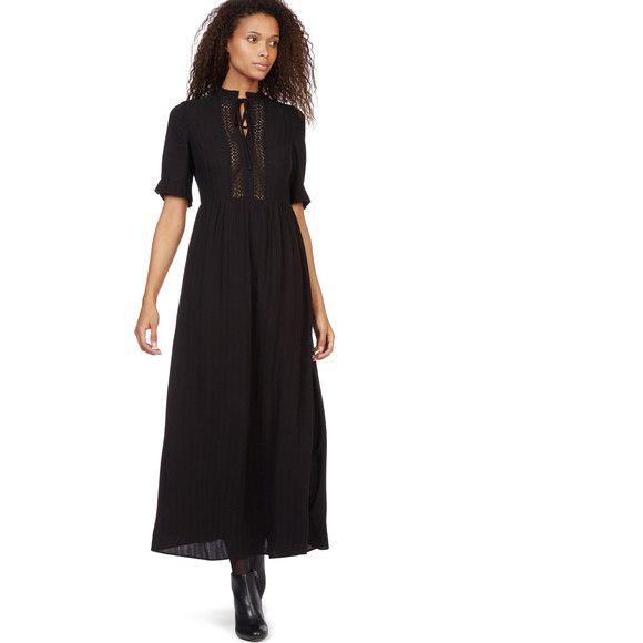 Monoprix robe noire femme