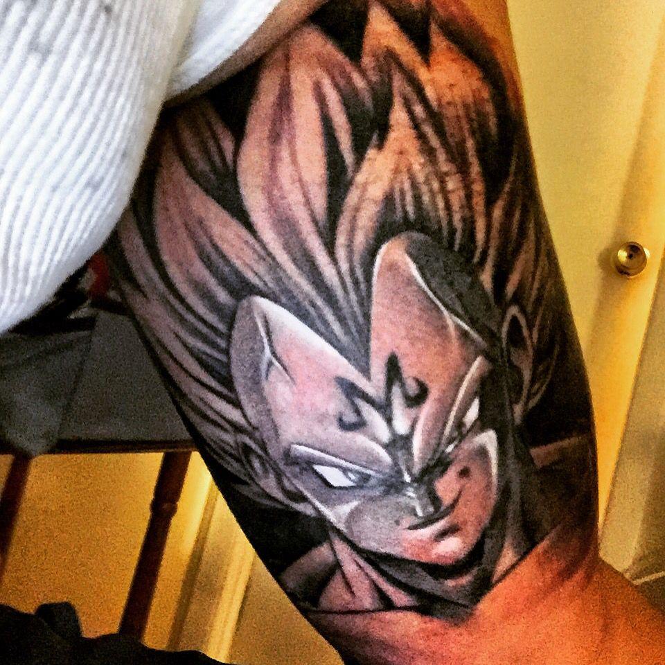 Vegeta Tattoo Dbz Tattoos Gengar Tattoo P Tattoo