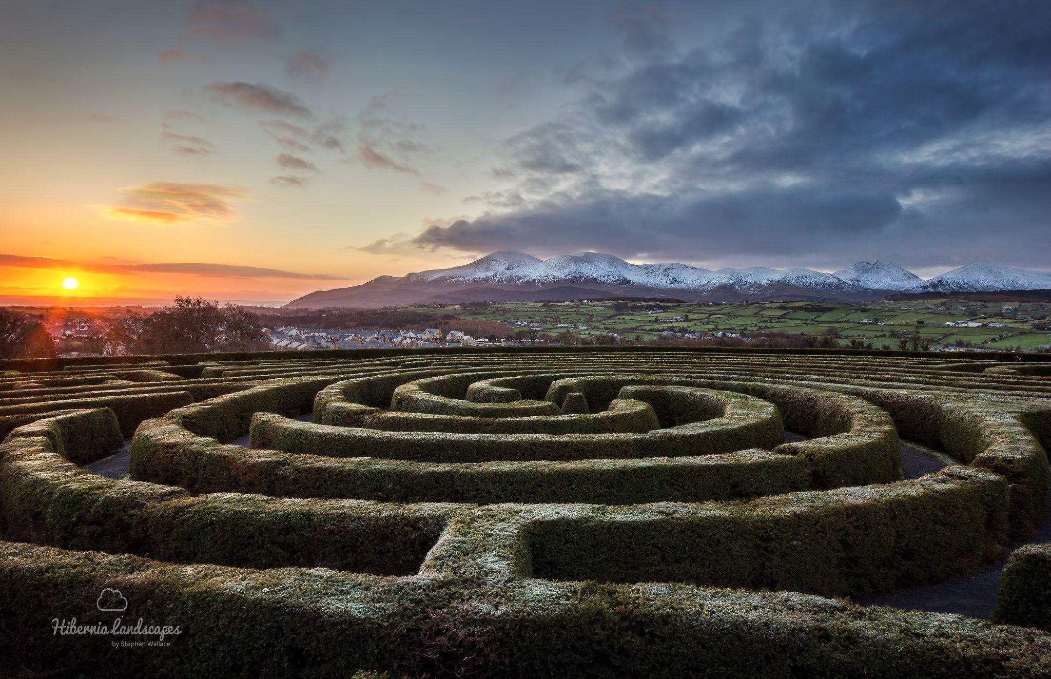The Maze And The Mournes Irish Landscape Landscape Ireland