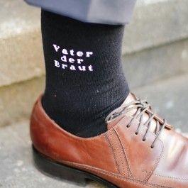 Hochzeit Socken Vater der Braut #father
