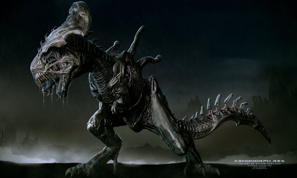 this-xenomorph-t-rex-is-much-more-terrifying-than-the-indominus-rex