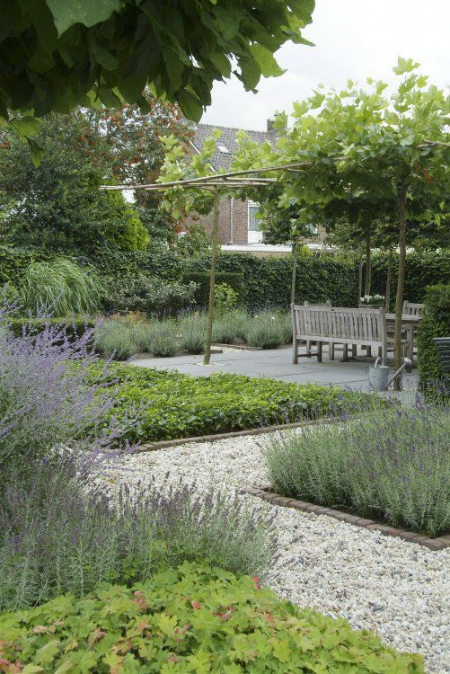 modern take on traditional potager garden style I like the single