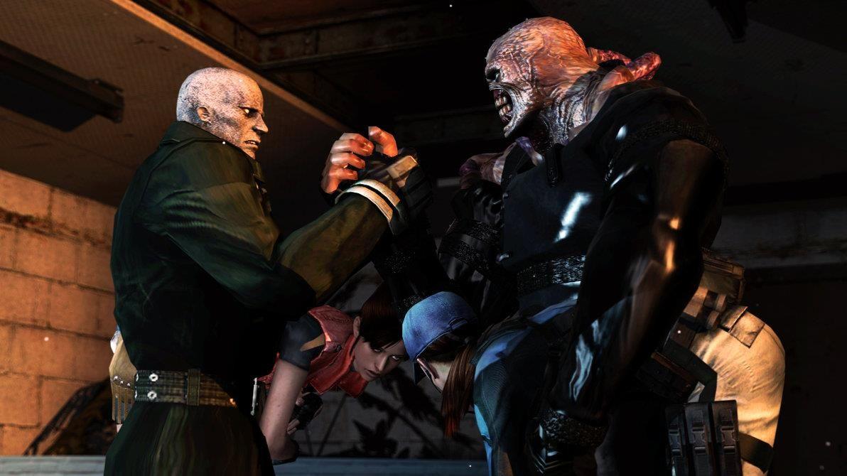 Tyrant And Nemesis Resident Evil Big Family Concert