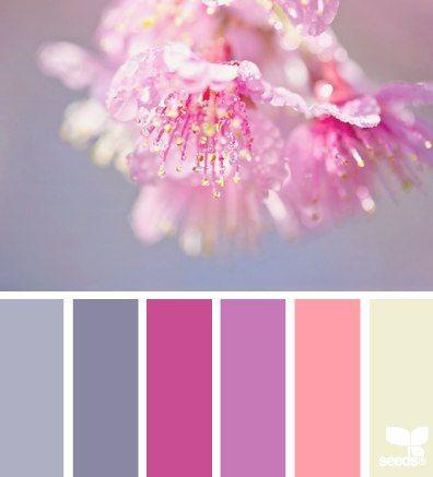 Pin de m nica verdejo en colores pinterest colores colores paredes y paletas de colores - Gama de colores morados ...