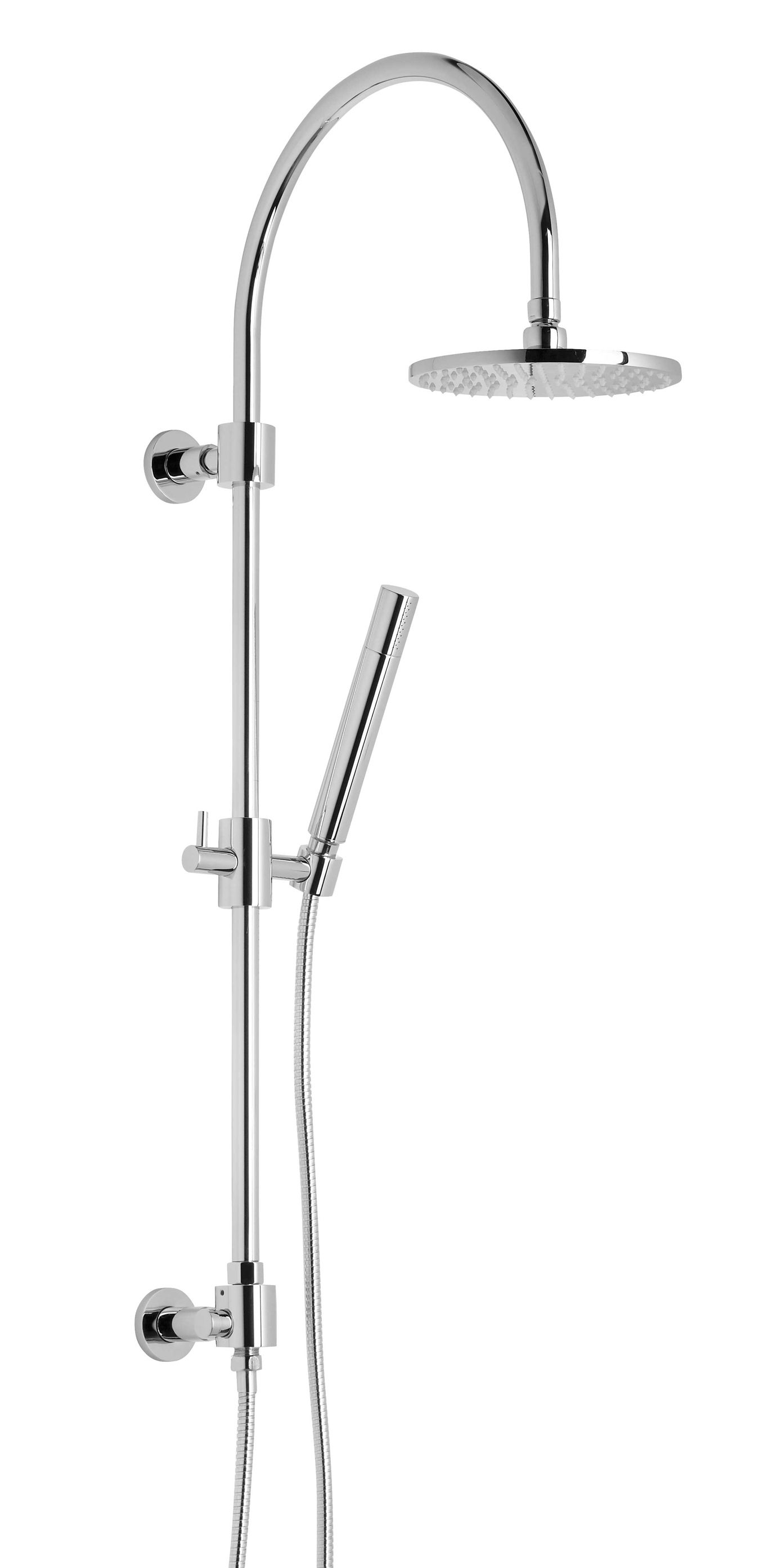 The ultimate Contemporary Shower Column with sleek shower head and matching  wand The ultimate Contemporary Shower Column with sleek shower head and  . Black Shower Head And Faucet. Home Design Ideas